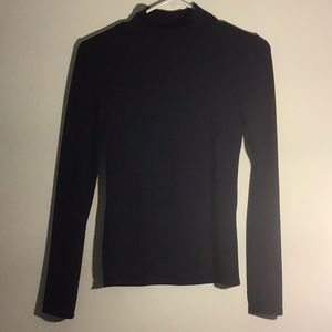 Long sleeve Blue Turtleneck